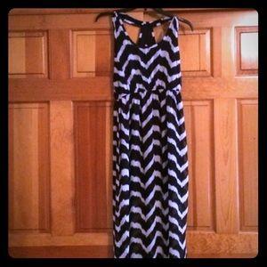 Forever 21 Chevron Dress